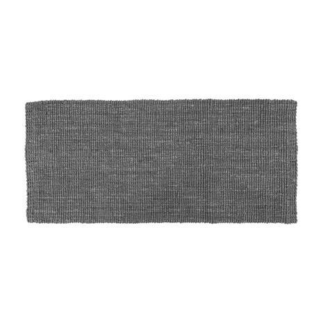 Dixie Jute Rug 180x80 cm, Lead Grey