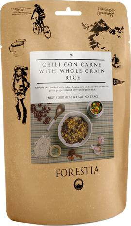 Forestia Outdoor Ateria Liha 350g, Chili con Carne with Whole-Grain Rice
