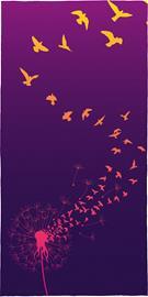 Full Volume by EMP - Pusteblume - Kylpypyyhe - Unisex - multicolor