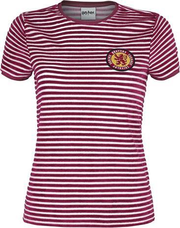Harry Potter - Gryffindor - T-paita - Naiset - Punainen valkoinen