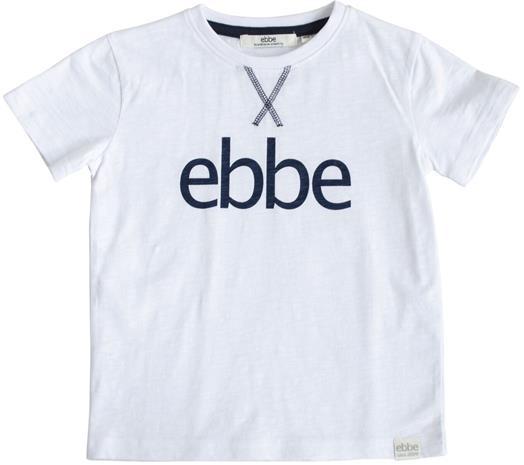 Ebbe Hendrix Logo T-Paita, Soft White, 98