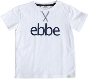 Ebbe Hendrix Logo T-Paita, Soft White, 92