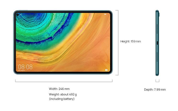 """Huawei Matepad Pro 10.8"""" WiFi 128 GB, tabletti"""