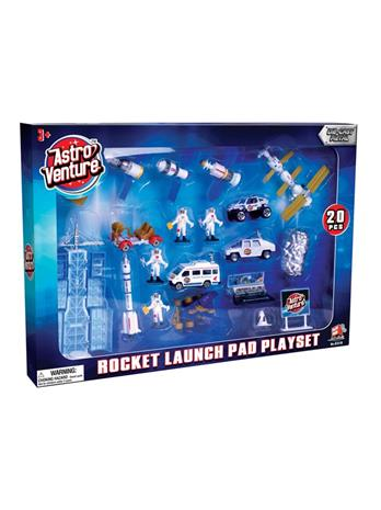 Astro Venture Diecast Rocket Launch Playset