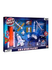 Astro Venture Diecast Air & Space Playset