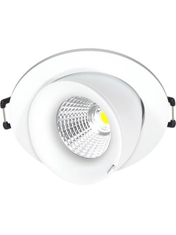 Nordtronic Velia Large Tilt LED 12.7W Dim to Warm 1800K-3000K