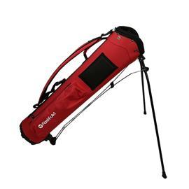 Fastfold Lightweight Pencil Bag - Red