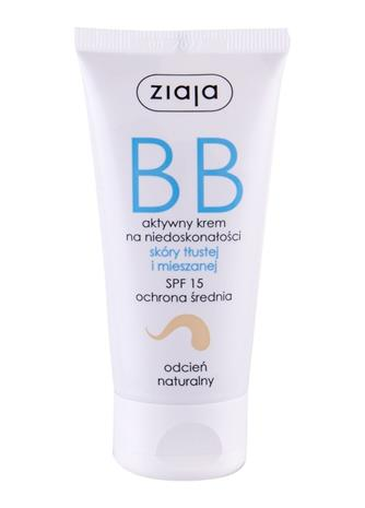Ziaja BB Cream Oily and Mixed Skin BB-voide 50 ml, Natural