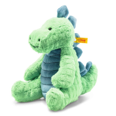 Steiff Soft Cuddle Friends Stegosaurus pilkkaa 28 cm