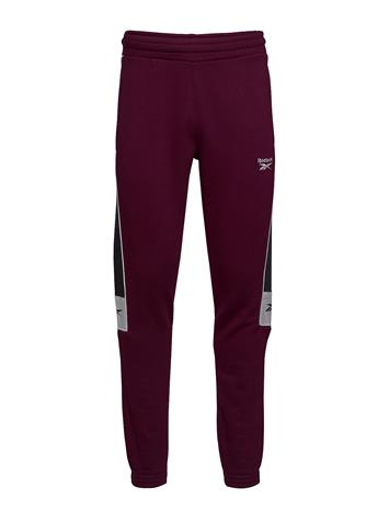 Reebok Classics Cl F Linear Pant Sport Pants Punainen Reebok Classics MAROON