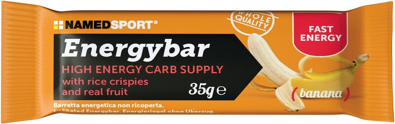 NAMEDSPORT Energy Bar Box 12 x 35g, Banana