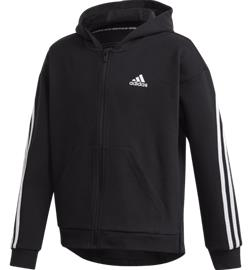 Adidas G 3S FZ HOOD BLACK/WHITE