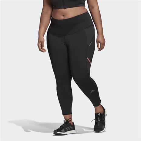 Adidas W W HOW WE DO LONG LEGGINGS (PLUS SIZE) BLACK