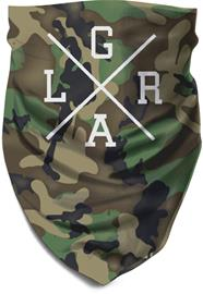 Loose Riders Tube Scarf, forest camo