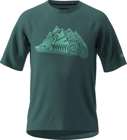 Zimtstern PureFlowz SS Shirt Men, pacific green/florida keys