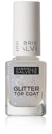 Gabriella Salvete Nail Care Glitter Top Coat kynsilakka 11 ml, sävy 17