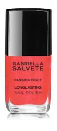 Gabriella Salvete Longlasting Enamel kynsilakka 11 ml, 55 Passion Fruit