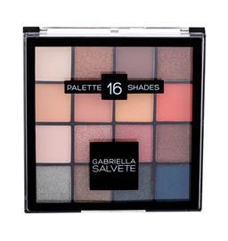 Gabriella Salvete Palette 16 Shades luomiväripaletti 20,8 g