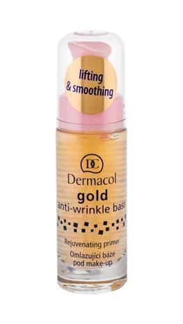 Dermacol Gold Anti-Wrinkle meikin pohjustusvoide 20 ml