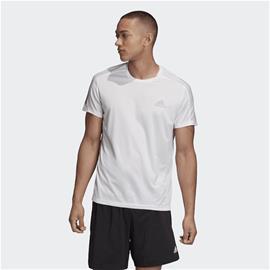 Adidas M OWN THE RUN T-SHIRT WHITE