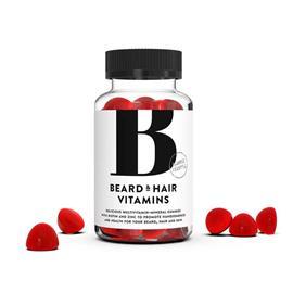 Bearded Lifestyle Parta- & hiusvitamiini 60 kpl ravintolisä