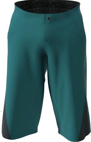 Zimtstern StarFlowz Shorts Men, pacific green/black