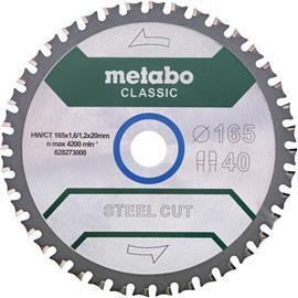 Metabo 628273000 Sahanterä 165x20 mm Z40 WZ 4