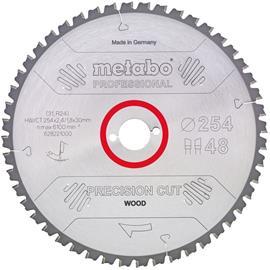 Metabo 628059000 Sahanterä 254x30 mm, 40T