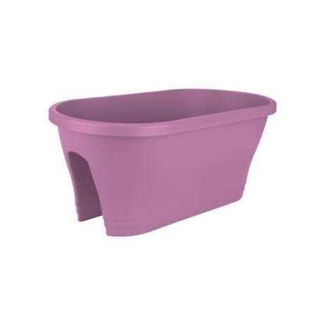 ELHO parvekerasia Korsikan Kukkasilta 60 - kirkkaan violetti - Ulkopuoli ja parveke - L 29,6 x L 58 x P 24 cm