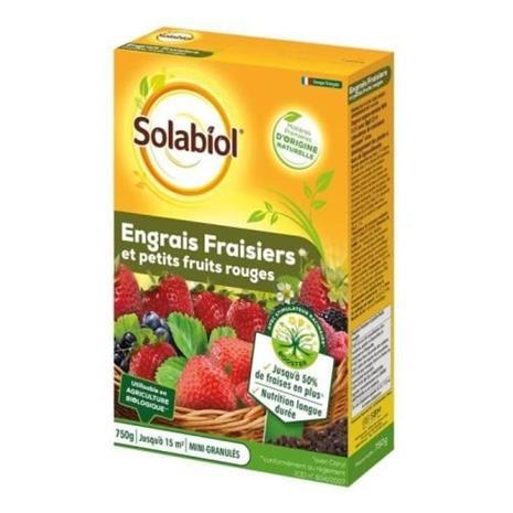 SOLABIOL - Mansikkalannoitteet - tapaus 750 g - UAB