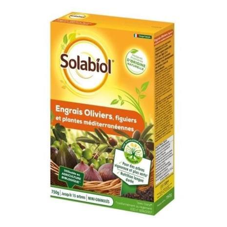 SOLABIOL - Oliivi- ja viikunalannoite - Asia 750 g - UAB