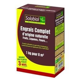 SOLABIOL - Täydellinen lannoite - tapaus 1 kg - UAB