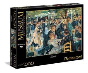 Renoir, Dance at Le moulin de la Galette, Palapeli, 1000 Palaa, Clementoni