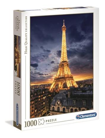 Tour Eiffel, Palapeli, 1000 palaa, Clementoni