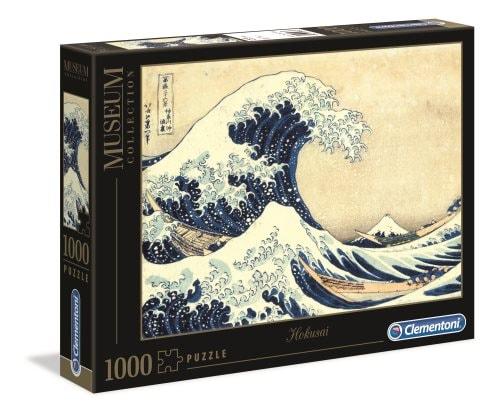 Hokusai, The Great Wave, Palapeli, 1000 palaa, Clementoni