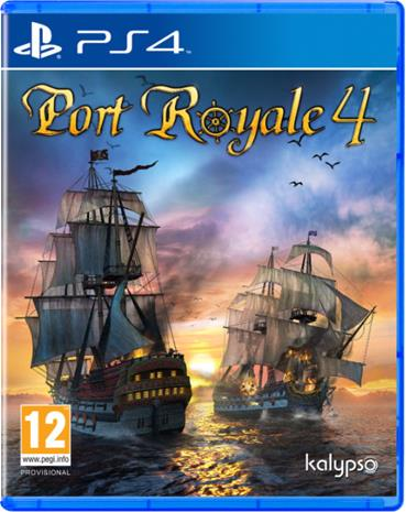 Port Royale 4, PS4 -peli
