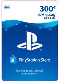 Playstation Network Card, PSN-kortti 300 euroa