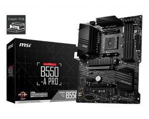 MSI B550-A PRO, emolevy