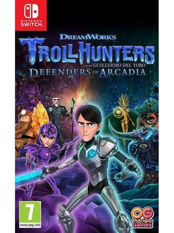 Trollhunters: Defenders of Arcadia, Nintendo Switch -peli