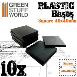 GSW Plastic Square Bases 40x40mm