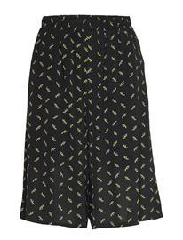 Gestuz Belinagz Shorts Ao20 Shorts Flowy Shorts/Casual Shorts Musta Gestuz BLACK FLOWER PATTERN