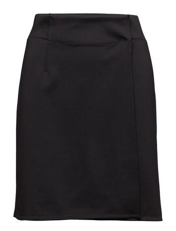 Filippa K Soft Sport Track Wrap Skirt Lyhyt Hame Musta Filippa K Soft Sport BLACK
