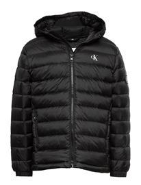 Calvin Klein Light Down Jacket Toppatakki Musta Calvin Klein CK BLACK