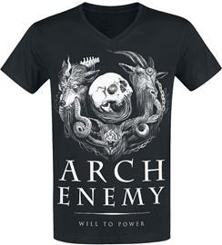 Arch Enemy - Will To Power - T-paita - Miehet - Musta