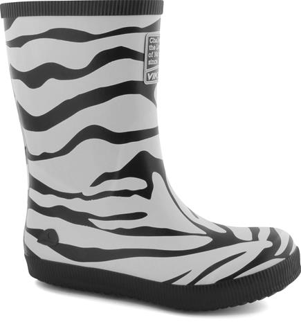 Viking Kumisaappaat Classic Indie Zebra, Musta/Valkoinen 29