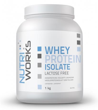 Nutri Works Whey Protein Isolate (laktoositon)