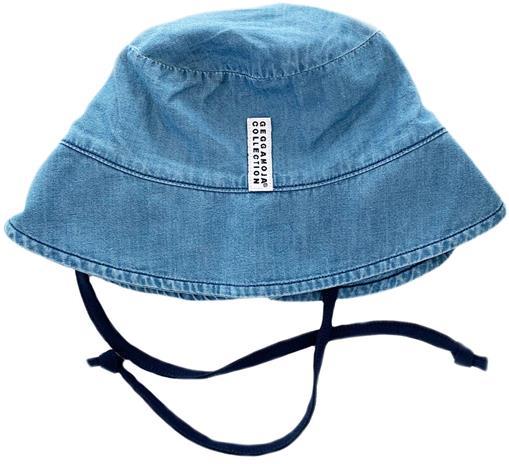 Geggamoja Sunny Aurinkohattu, Denim Blue, 10-24 kuukautta