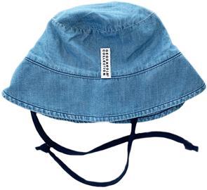 Geggamoja Sunny Aurinkohattu, Denim Blue, 4-10 kuukautta
