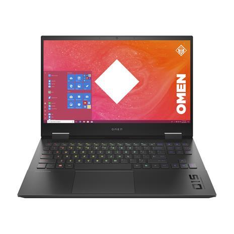 """HP Omen 15-ek0018no (Core i7-10750H, 16 GB, 512 GB SSD, 15,6"""", Win 10), kannettava tietokone"""