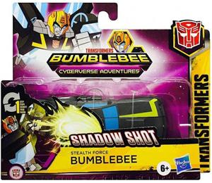 Transformers Cyberverse One Step Shadow Shot Bumblebee